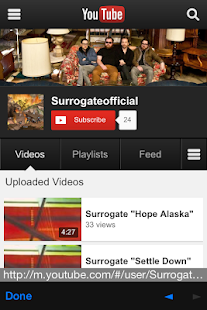 Surrogate - screenshot