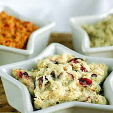Wild Cranberry and Roasted Garlic Veggie Pâté
