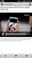 Screenshot of NDTV Gadgets