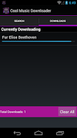 Screenshot of Cool Music Downloader
