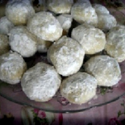 Wedding Cookies with Coconut