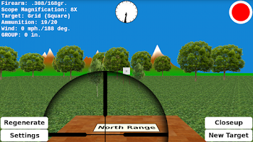 Screenshot of Target Shooting Practice
