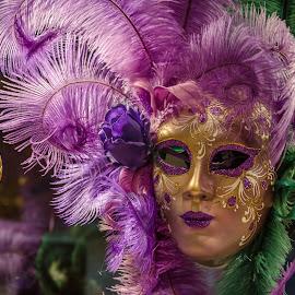 Mascara veneciana by Murat Besbudak - Artistic Objects Clothing & Accessories ( venezia, mascara, italia )