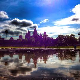 Angkor Wat, Cambodia by Akiro Mahilom - Instagram & Mobile iPhone