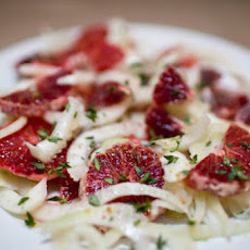 Blood Orange Fennel Salad
