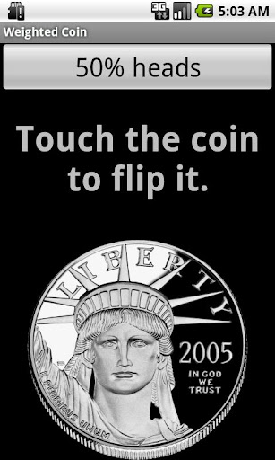Weighted Coin