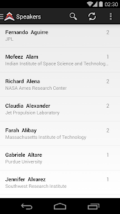 2016 IEEE Aerospace Conference - screenshot