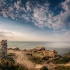 World's End by Mirza Buljusmic - Landscapes Caves & Formations ( sweden, skåne, hdr, hovs hallar, sverige, weather, scania )