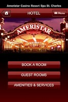 Screenshot of Ameristar Casinos, Inc.