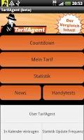 Screenshot of TarifAgent