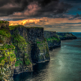 Cliff's of Moher by Alnor Prieto - Landscapes Mountains & Hills