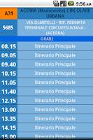 Screenshot of Orari Bus CTP