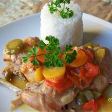 Rabbit Stew with Coconut Cream
