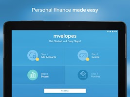 Screenshot of Mvelopes Personal Finance