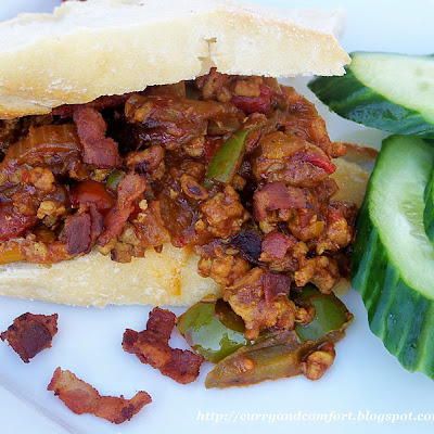 Masala Sloppy Joes