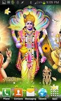 Screenshot of Lord VISHNU HQ Live Wallpaper
