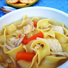 My Not-So-Quick and Easy Chicken Noodle Soup
