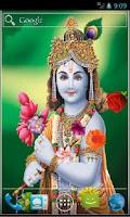 Screenshot of Shree Krishna Live Wallpaper
