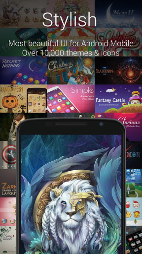 GO Launcher EX:Theme&Wallpaper Screenshot