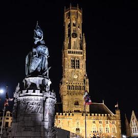 Belfry of Bruges by Antonello Madau - Instagram & Mobile iPhone