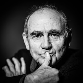 Jan Peszek - one of the greatest polish actors by Pawel Wodnicki - People Portraits of Men
