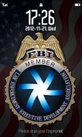 Screenshot of FBI FingerPrint