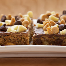 Peanut Butter Mud Bars