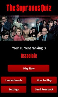 The Sopranos Quiz - screenshot