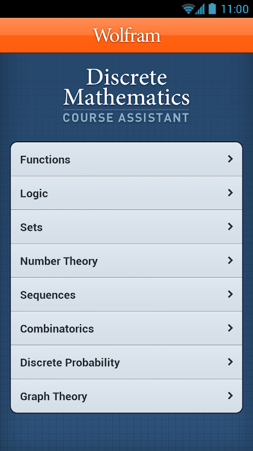discrete mathematics help The page provides math calculators in discrete mathematics they are free and show steps discrete mathematics calculators didn't find the calculator you need.