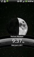 Screenshot of Lunar Live Wallpaper LITE