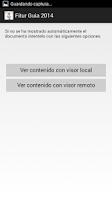 Screenshot of Guía apps turísticas. 2014