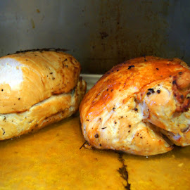 Chickens by Charles Ward - Food & Drink Meats & Cheeses
