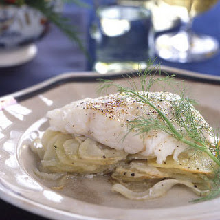 Cod, Potato, and Fennel Casserole
