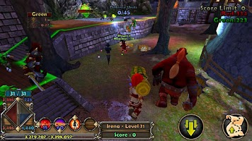 Screenshot of Dungeon Defenders Xperia Play
