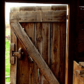 Barn Door by Vern Tunnell - Buildings & Architecture Architectural Detail