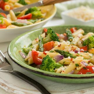Vegetarian Penne Pasta Primavera Recipes