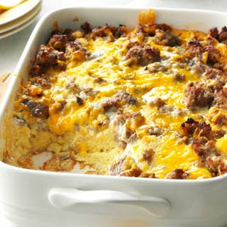 Overnight Egg Casserole With Bread Recipes