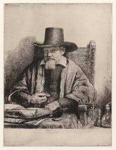 RIJKS: Rembrandt Harmensz. van Rijn: Portrait of Arnold Tholinx 1658