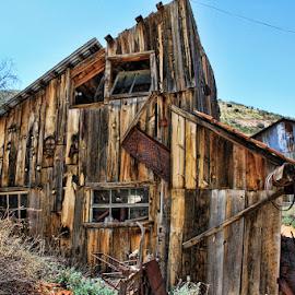 Abandoned! by Fred Herring - City,  Street & Park  Neighborhoods