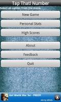 Screenshot of Tap That! Number