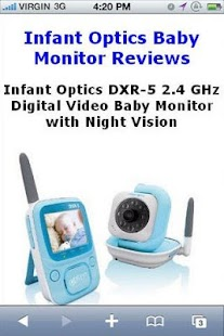 DXR5 Baby Monitor Reviews - screenshot