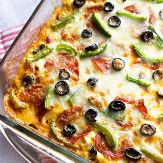 Turkey Zucchini Pizza Lasagna {GF, Low Carb & High Protein}