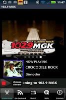 Screenshot of 102.9 WMGK