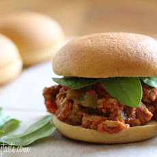 Crock Pot Italian Sloppy Joe