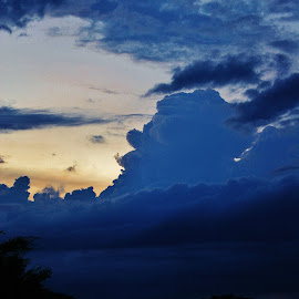 Strong Sky by Alvin Simpson - Landscapes Cloud Formations ( canon, clouds, sky, sunset, rebel, dusk )