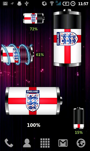 England : 電池部件