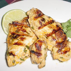 Tequila Grilled Chicken
