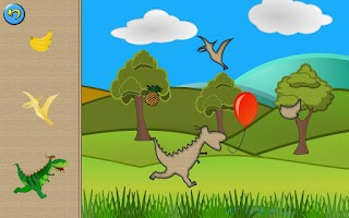 Screenshot of Dinosaur Puzzle for Kids