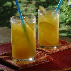 Mango Ice Tea with Gin