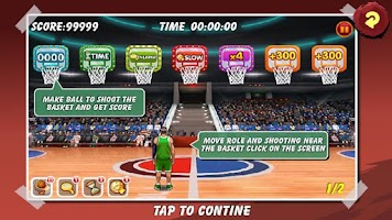 Screenshot of Basketball All Star